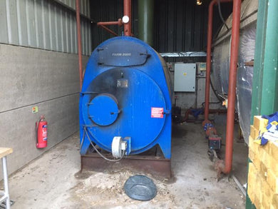 [Used] Farm 2000 boiler with RHI - 200kW log boiler
