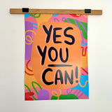 Yes You Can, Illustration Artwork - Poster Print