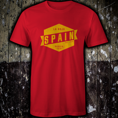 "Spain - Vintage ""La Roja"" World Cup Russia 2018 T-Shirt"