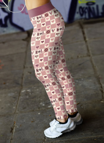Quilted Love Leggings