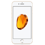 Refurbished Apple iPhone 7 in gold front view