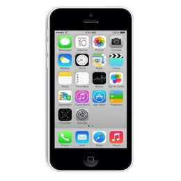 Refurbished Apple iPhone 5C in white front view