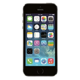 Refurbished Apple iPhone 5S in space grey front view
