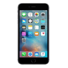 Refurbished Apple iPhone 6 Plus in space grey front view