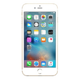 Refurbished Apple iPhone 6 in gold front view
