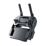 Refurbished DJI Mavic Pro remote control with other parts in left side view