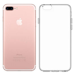 Transparent and thin silicon case for iPhone 7 Plus