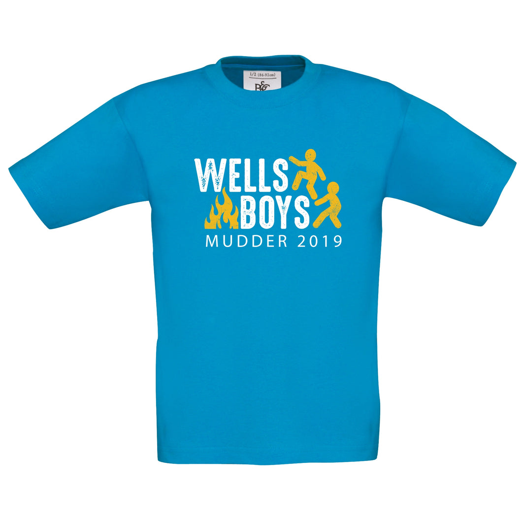 Wells Boys Mudder 2019 Kids T-Shirt