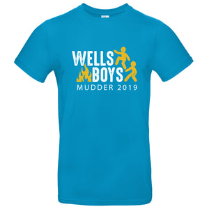 Wells Boys Mudder 2019 Adult T-Shirt