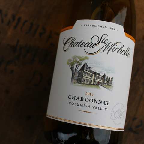 Chateau Ste Michelle, 'Columbia Valley' Chardonnay, 75CL