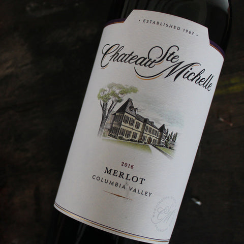Chateau Ste Michelle, 'Columbia Valley' Merlot, 75CL