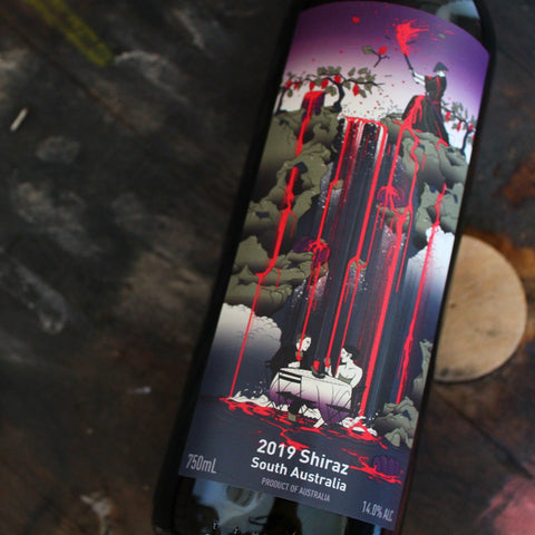 Free Run Juice, 'Samurai' Shiraz, 75CL