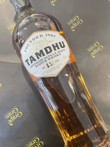 Tamdhu 12 Speyside Single Malt Scotch Whisky, 70cl