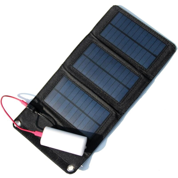 Portable Solar Charger+5W Foldable Solar Panel Bag+Traveling Solar Power Supply+USB Charger For Cell Phones