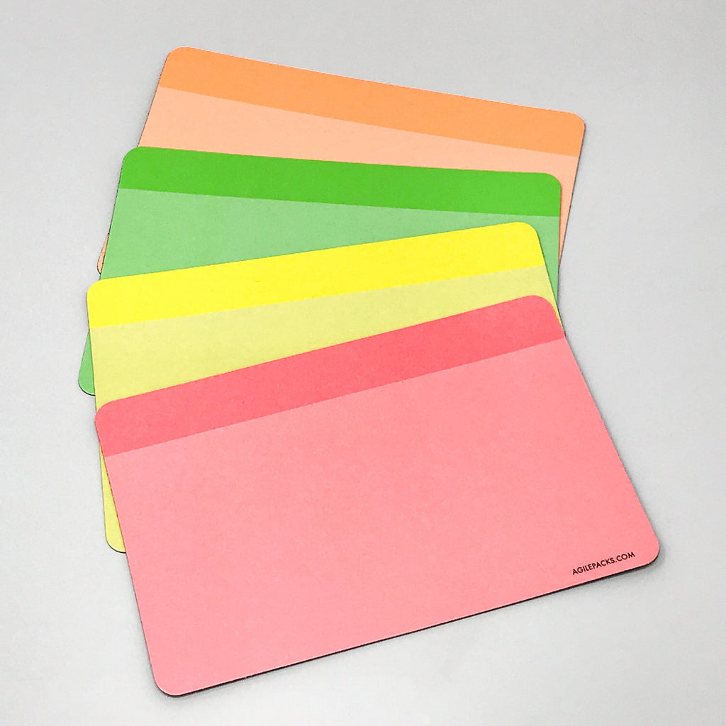 Neon Kit - 24 Magnets plus Magnetic Cloth Eraser