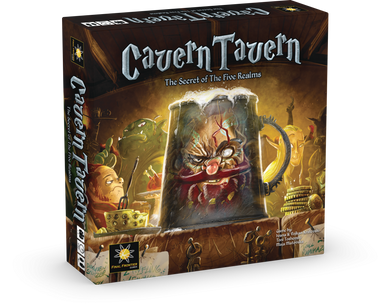 Cavern Tavern - base game + custom dice