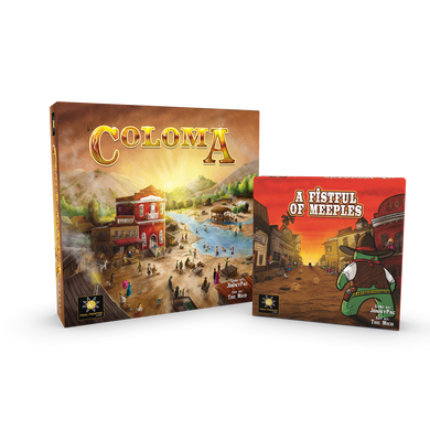 Coloma + A Fistful of Meeples bundle