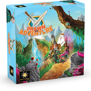 Drawn to Adventure (pre-order)