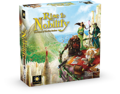 Rise to Nobility - base game + deluxe pack