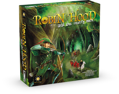 Robin Hood and the Merry Men - base game + metal coins