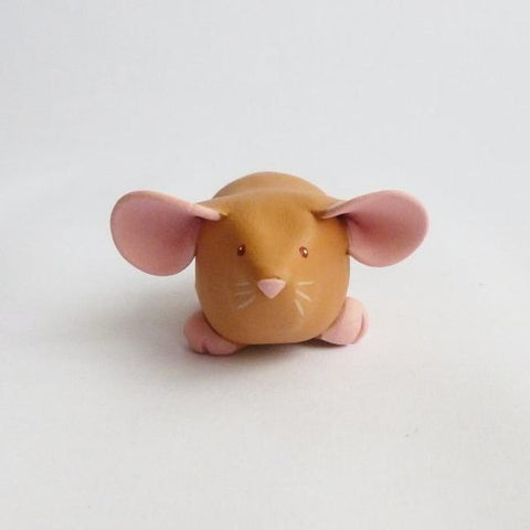 Ginger Fawn Dumbo Dumpy Rat Small Ornament Sculpture
