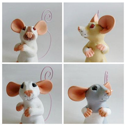 Made to Order: Memo Rat Ornament