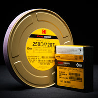 Kodak VISION3 250D Color Negative Film #7207 (16mm, 100' Roll, Single Perf)