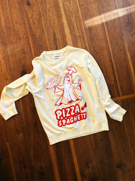 Pizza Ghost Sweater