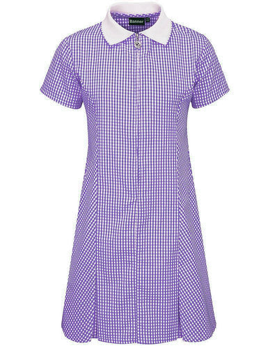 Cordwalles Zip-Fronted Corded Gingham Dress