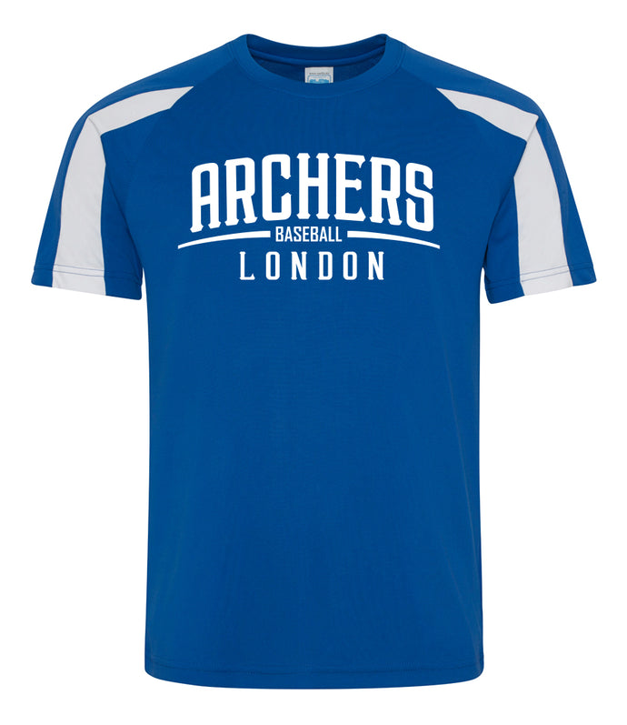 Archers Contrast Dri-Fit T Shirt (JC003)