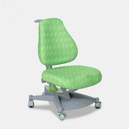 The seat and oscillating backrest are ergonomically shaped to ensure healthy posture