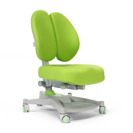 iStudy Children Ergonomic Adjustable Chair E06 in green colour