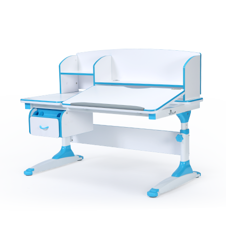 iStudy Kids Ergonomic Adjustable Desk C120 blue colour only at Sleep House Australia