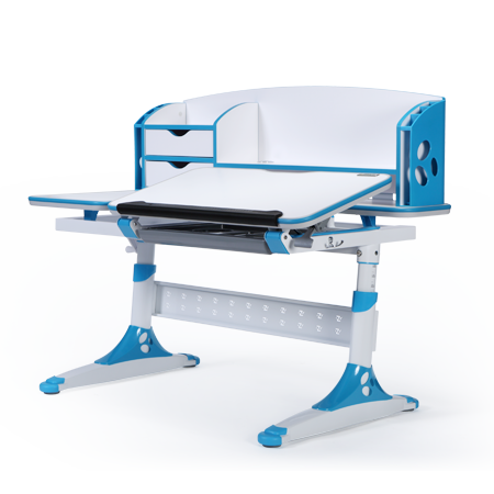 iStudy Children Ergonomic Adjustable E 120 Desk blue Colour only at Sleep House Melbourne