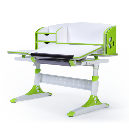 iStudy Children Ergonomic Adjustable E 120 Desk Green Colour only at Sleep House Australia