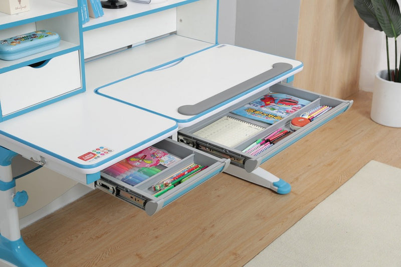 Best Price of iStudy Kids Ergonomic Height Adjustable Desk R120 by Sleep House Perth WA