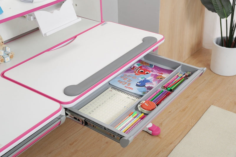 Best Price of iStudy Kids Ergonomic Height Adjustable Desk R120 by Sleep House Sydney NSW