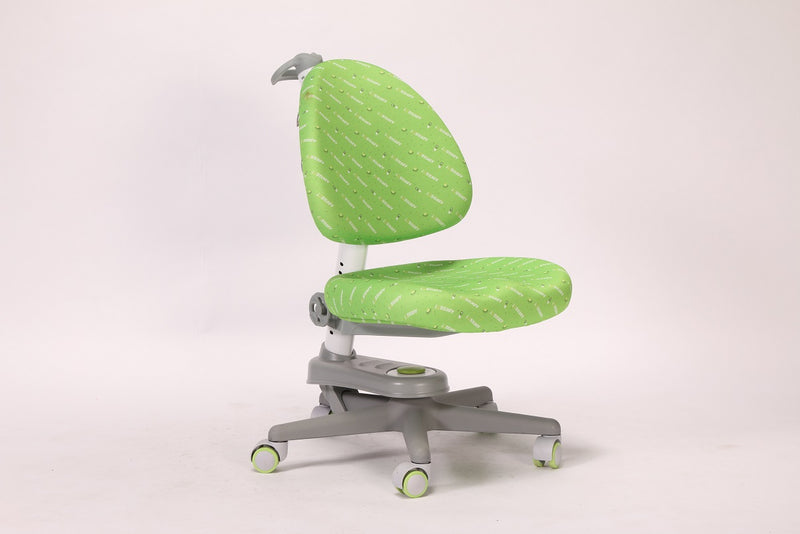 iStudy Children Ergonomic Adjustable Chairs C02 in green colour