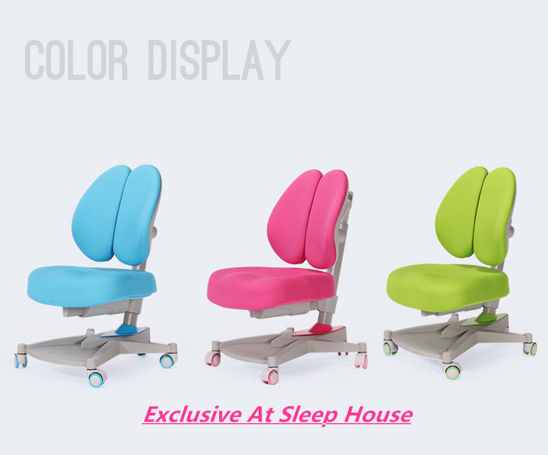 Ergonomic Adjustable Children Chair E06 Exclusive At Sleep House Blackburn