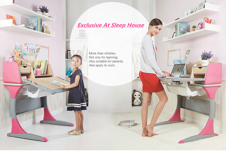 Istudy Ergonomic Children Desk S100B grows with you child