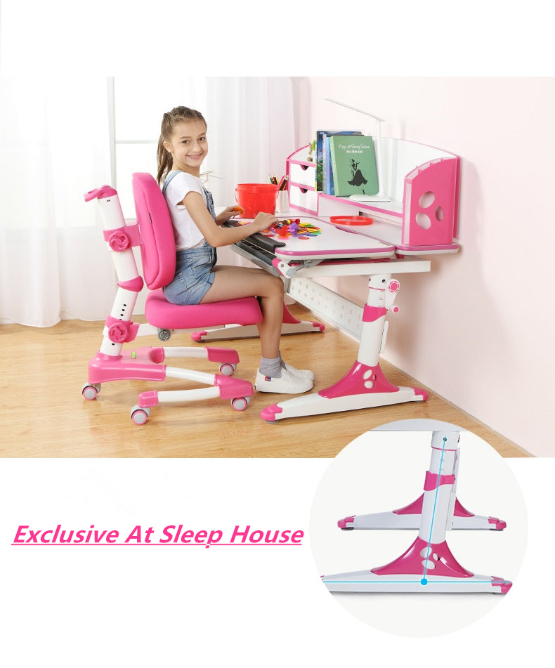 Istudy Ergonomic Children Desk E120 suits 3-16 ages