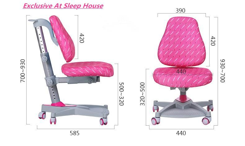 I Study Kids Ergonomic Adjustable Chair Suitable for 3-16 ages