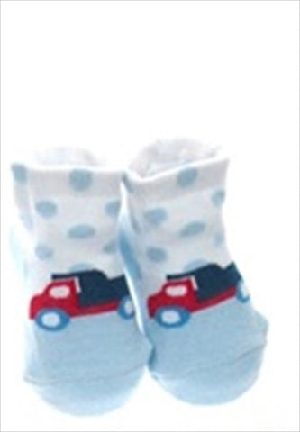 Sokker i Organza Pose - Gutt 'Fab Boys Vehicle Design 02 Soft Touch'