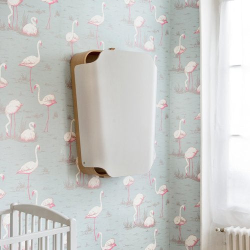 NOGA Changing Table Gentle White - Veggmontert Stellebord - FRIFRAKT!