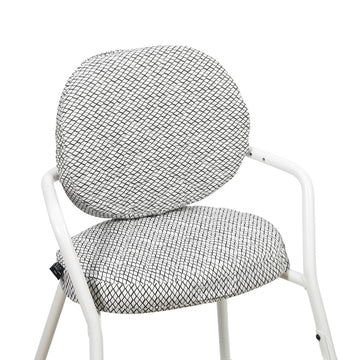 PAKKETILBUD TIBU High Chair Gentle White - Barnestol - FRIFRAKT!