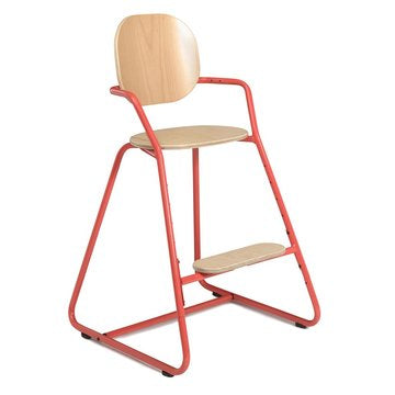 TIBU High Chair Bright Red - Barnestol - FRIFRAKT!