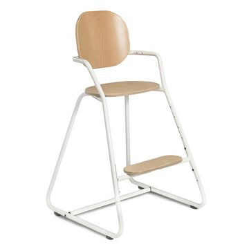 TIBU High Chair Gentle White - Barnestol - FRIFRAKT!