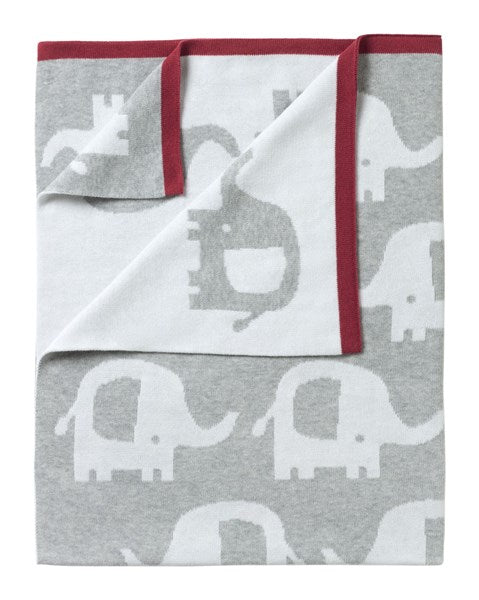 Teppe/Pledd Reversibel & Super Mykt - Eli the Elefant