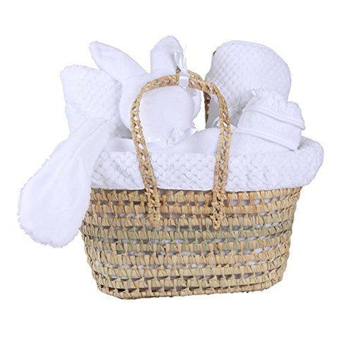 Polly Luxury Gift Basket - Honeycomb Hvit