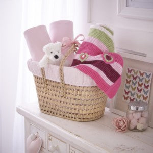 PRISVINNENDE Luxury Gift Basket - Waffle/Pick & Mix Rosa SPRINKELSENG